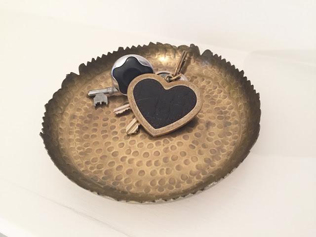 Mulberry nyckelring hjärta
