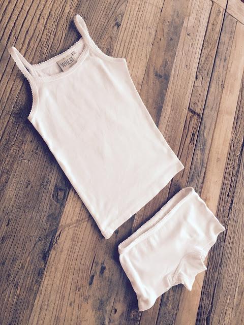 wheat underkläder linne trosor